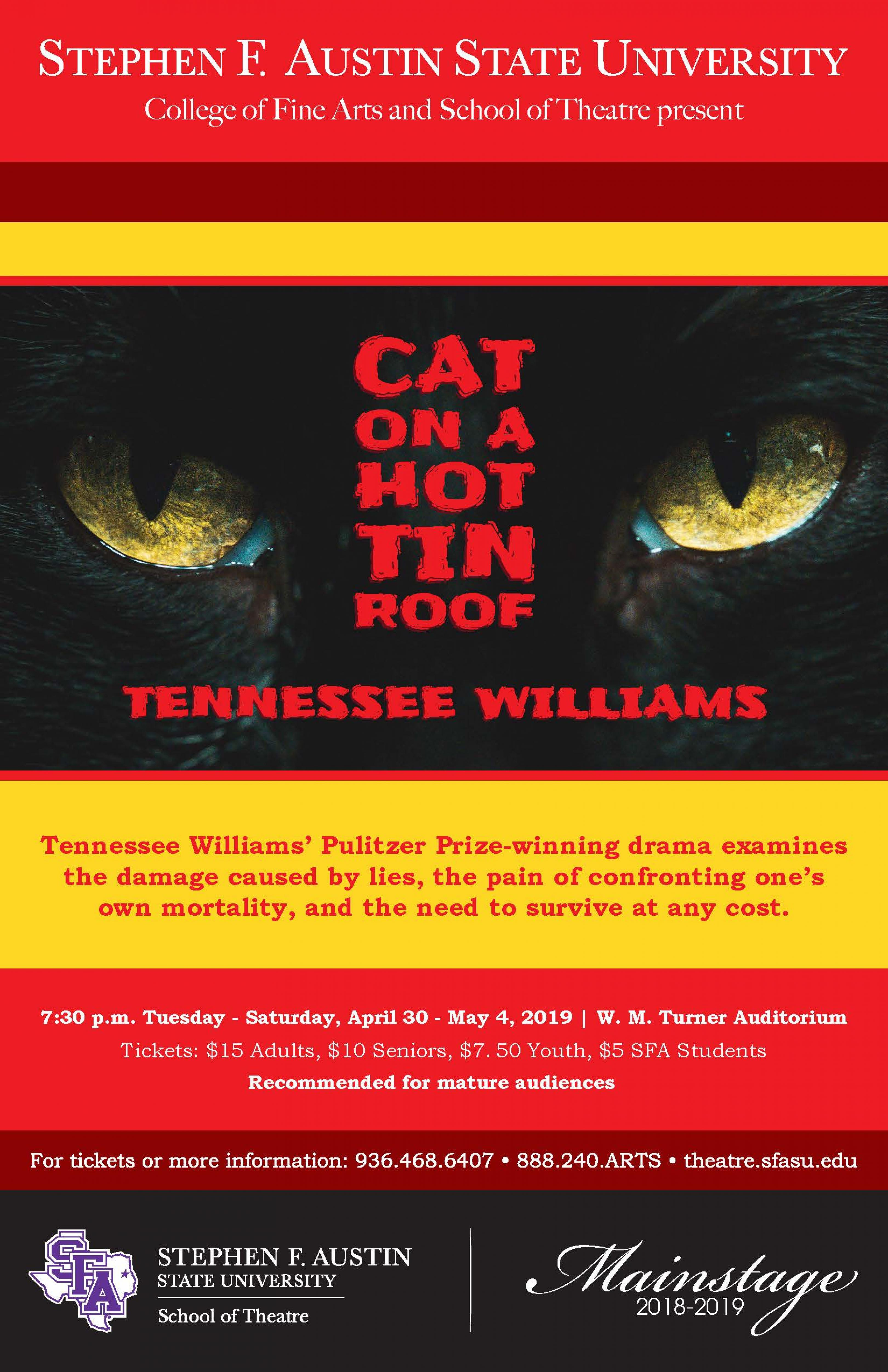 Cat On A Hot Tin Roof banner image
